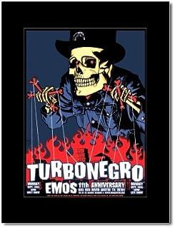 TURBONEGRO - Emo's Austin Texas 2003 Mini Poster - 23.5x17cm