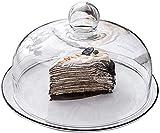 Soporte para tarta 6/8/10 pulgadas de seguridad de cerámica Pastelería Blanco Postre plato de postre con fronteras negras Pastel de pastel Cajón de cristal Fruta de cristal COCCIÓN CUCHA CUBIERTA DE A