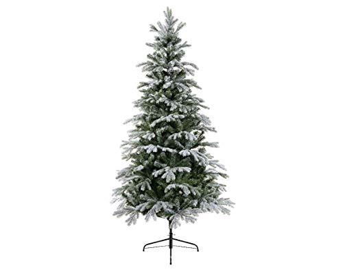 Amicasa Albero di Natale Sunndal Innevato 150 cm