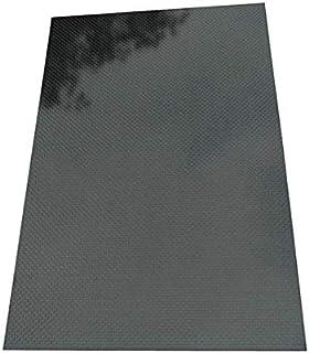 CCChaRLes 400X500X (0.5-5) Mm 3K Feuille De Plaque De Fibre De Carbone À Armure Toile Noire, Panneau De Panneau De Fibre D...