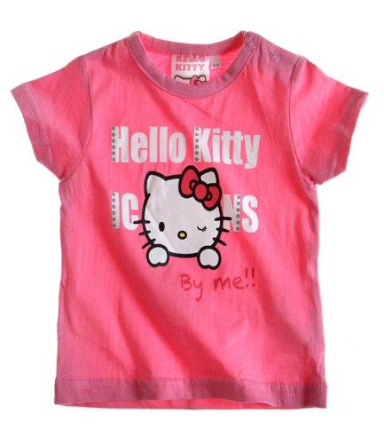 Hello Kitty T-Shirt Fuchsia pour bébé (6 Mois)