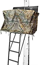 Hawk 2-Man Ladder Blind Kit (Big De), Black