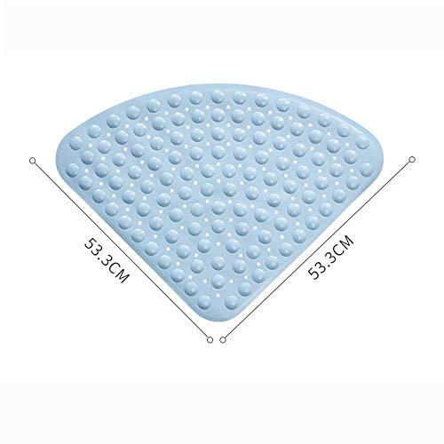 FENGLI Alfombrilla de ducha antideslizante para bañera o bañera (color: azul, tamaño:...