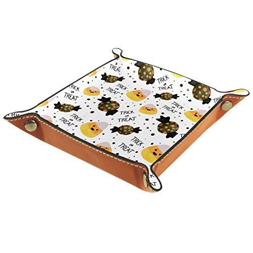 Bandeja de dados, plegable de cuero para dados, para juegos de dados, D&D y otros juegos de mesa, bola de arroz japonesa y caramelo