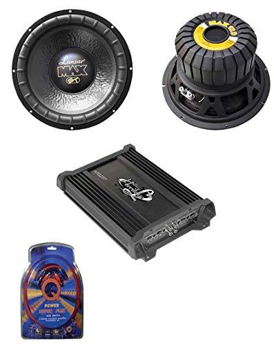 vm audio car speakers Lanzar MAX12D 12