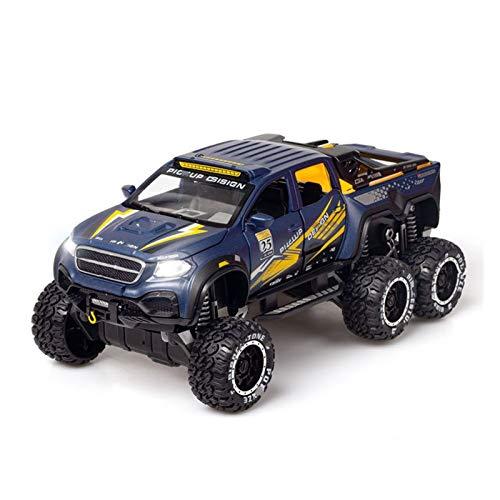 Vehículo de Juguete 1:28 para MB ORV Alloy Car Modelo Diecasts Sound Light Pull Back to-y Vehicles to-y Cars Juguetes para niños Regalos Chico Juguete (Color : 3)