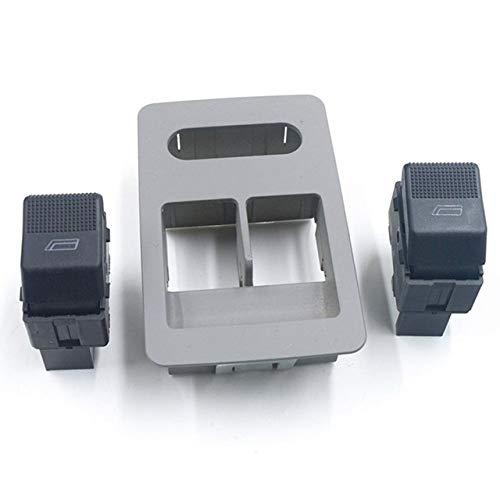 Happy Shop Interruptor de Ventana For Seat Arosa 1997-2004 1999-2002 Córdoba Ibiza 1999-2002 VW Polo 6N2 1999-2001 Lupo 6X1 6E1 2000-2003 Interruptor de Control de Ventana reemplazo (Color : Blue)
