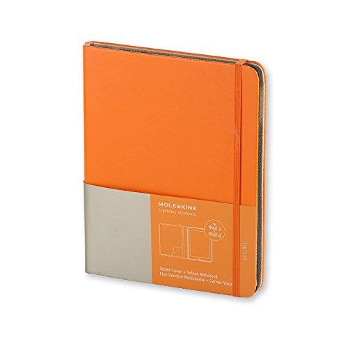 Moleskine ET2IPAD3SLN1 - Funda iPad 3 y 4, con cuaderno'Volant', naranja