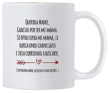 Casitika Regalo Para Mama de Dia de Madres o Cumpleanos Funny Gift Ideas in Spanish for Mothers Day or Birthday 11 oz Latin Mom Mug Taza para Cafe Para Feliz Dia de La Madre.