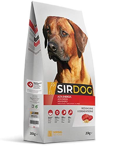 SIRDOG Pienso para Perros 20kg de Alta Energía de Fácil Digestión