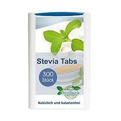 Stevia Tabs im Spender 300 Stück Süßstoff Reb A 97%