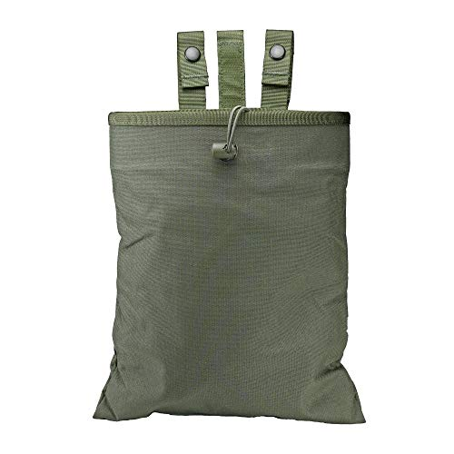 Dump Pouch, Folding (3-Fold Mag Recovery Pouch), MOLLE, Belt Mounted (Ranger Green)