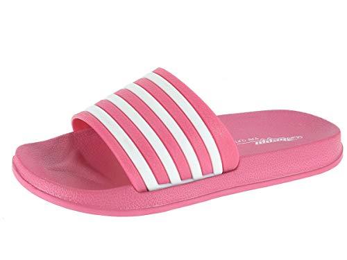 Beppi Zapatillas de Piscina (Rosa, 38) Loafer Flat, EU