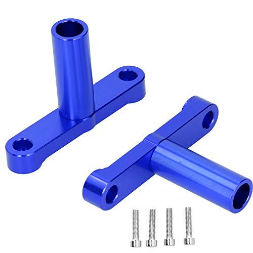 Conjuntos de faros duraderos Soporte de faros delanteros de motocicleta Accesorios de coche para 125/150/155 15-18(blue)
