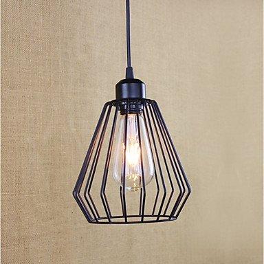 Pendentif métal créatif Light contiennent Edison 4W Ampoule LED rétro Pendentif/Cuisine Lampes Bar Café Couloir Balcon Suspension