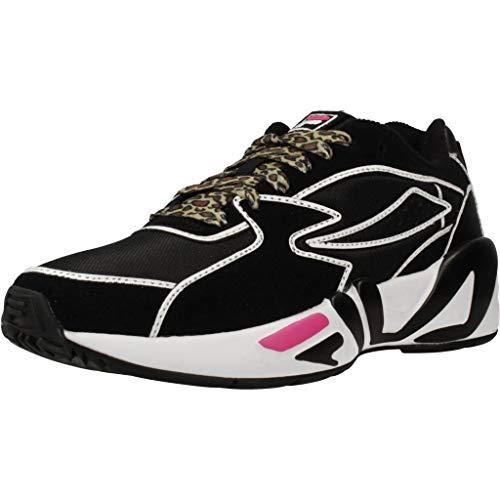Zapatillas Deportivas de Mujer FILA MINDBLOWER WMN en Cuero Negro 1010762-12S