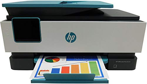 HP Officejet Pro 8028 All-in-One Printer, Scan, Copy, Fax, Wi-Fi and Cloud-Based Wireless Printing (3UC64A)