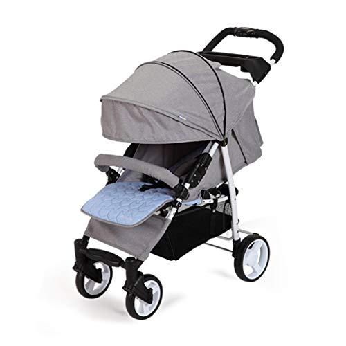 Buy Discount MEI Baby Trolley Stroller Can Sit Reclining Portable Folding Four-Wheel Shock Absorber,...