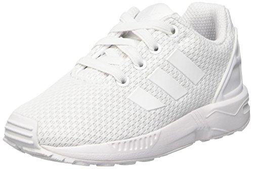 adidas Zx Flux El I, Zapatillas Unisex Bebé, Blanco (Ftwbla/Ftwbla/Ftwbla), 27 EU