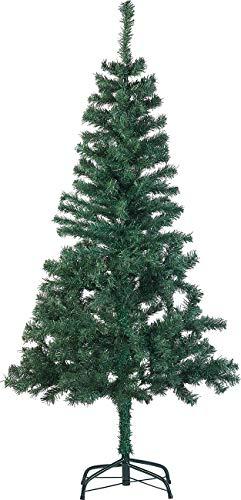 infactory Sapin de Noël Artificiel Vert 310 Branches / 150 cm