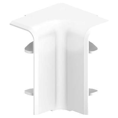 Habengut 3 m Sockelleiste aus PVC 2 St/ück L/änge 1,5 m Farbe: Wei/ß H/öhe 50 mm mit integriertem Kabelkanal
