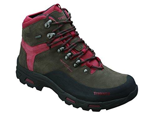 Treksta Fastpack Vertex Zapatillas de Senderismo, Mujer, Rojo, Size UK 5