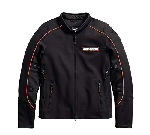 Harley-Davidson Men's Manitowoc Stretch Riding Jacket - 98156-18VM (X-Large)