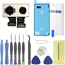 OKBICHI Rear Camera for iPhone 7 Plus (All Carriers) Back Camera Module Flex Cable Replacement - Repair Tools with Screen Protector and Waterproof Seal