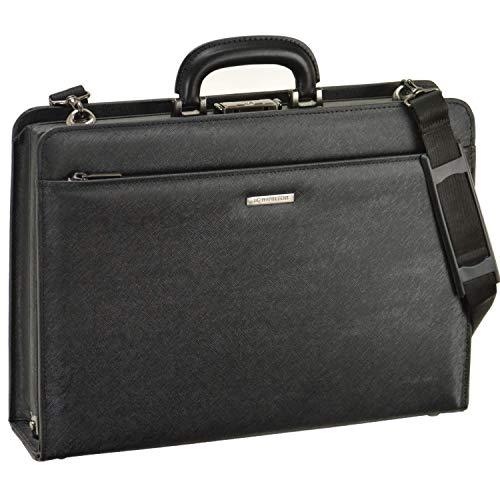 日本製 最強のパフォーマンス [和製 鞄] 牛革 ハンドル 角シボ 全開 大容量 ダレスバッグ B4ファイル対応 大開き ビジネスバッグ メンズ 機能性 バッグ