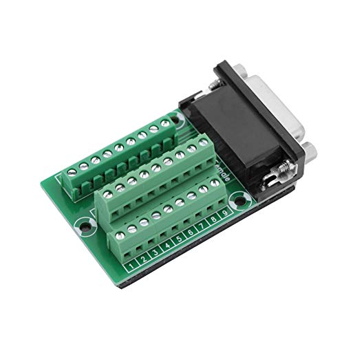 DB26 D-SUB-Steckeradapter, Breakout-Board-Modul, Borad Professional Durable Terminal Breakout DB26-Schnittstellenmodul zur Verdrahtung elektronischer Komponenten
