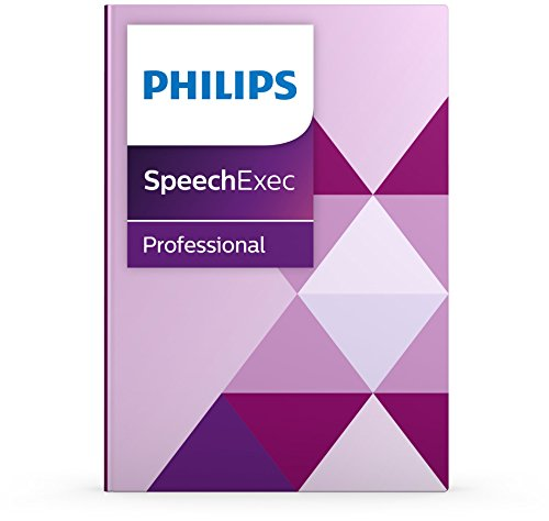 dictation softwares Philips PSE4400 Speechexec Pro Dictate with Speech Recognition Software