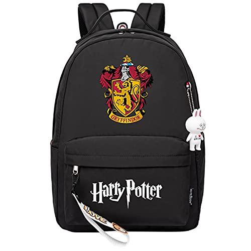 MMZ Ami sac à dos sac d'école décontracté cadeau d'anniversaire sac à dos rose sac de livre adapté aux filles et aux garçons âgés de 8 à 16 ans (#12)