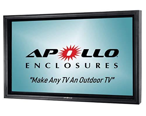 Apollo Outdoor TV Enclosure for Slim 50' to 55' TVs -...