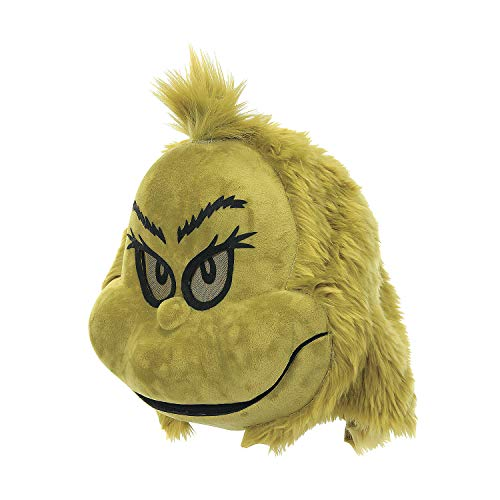 Fun Express The Grinch Plush Mouth Mover MASK - Apparel Accessories - 1 Piece