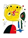 Joan Miro and Fix The Hairs of The Star Poster Kunstdruck