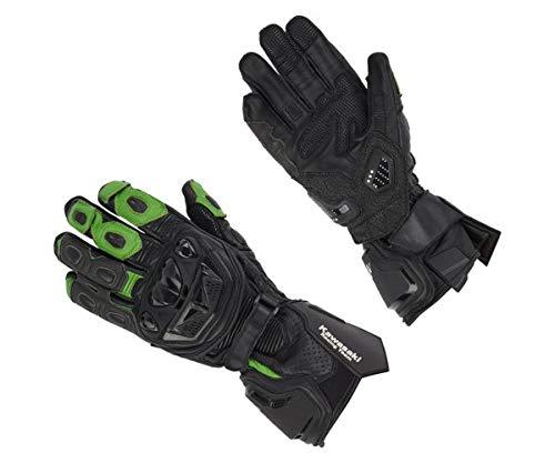 Kawasaki KRT Handschuhe Leder schwarz/grün Größe 2XL