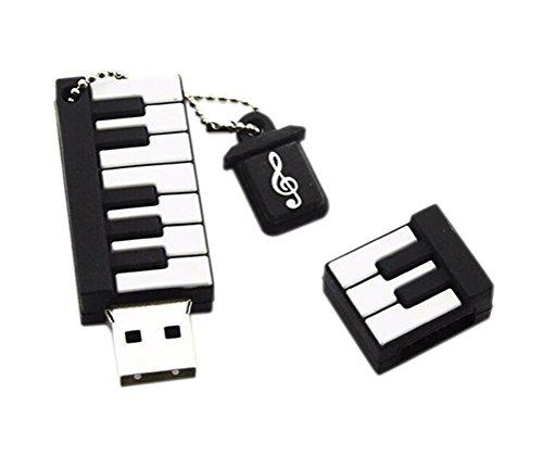 CAOLATOR USB Stick Karikatur Silizium Mini Keyboard Klavier als USB Speicherstick Flash Drive 32G