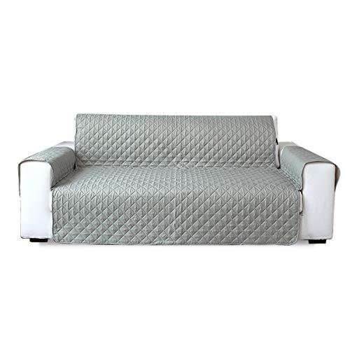 PETCUTE Sofabezüge 2 Sitzer Gesteppte Sofahusse rutschfeste Sofabezüge Mordern sofaüberwurf schonbezug 2 Sitzer
