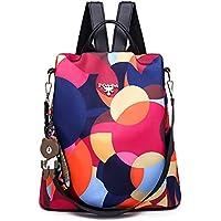 GuaziV Backpack Purse for Women Nylon Anti-theft Waterproof Fashion Bag