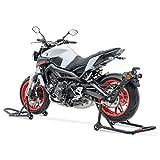 Caballete Moto Set para Yamaha FZ6 S2 / FZ6 Fazer S2 Negro SM5