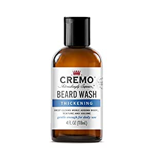 Cremo Beard Wash Thickening Formula Deep Cleans While Adding Volume, 4 Fl Oz 6