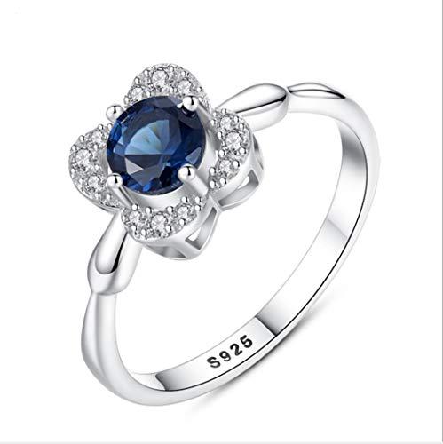 YOYOYAYA Ringe S 925 Silber Blum...