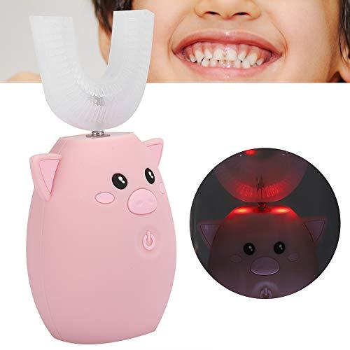 Niños Cepillo de dientes sónico eléctrico en forma de U, Cepillo de...