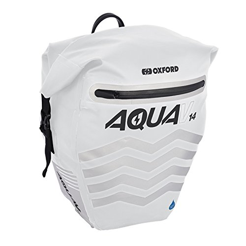 Oxford Aqua V Alforja, Unisex, Blanco, 14 Litre