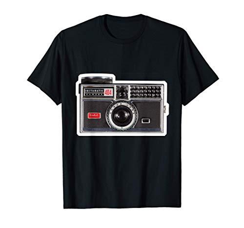 KODAK DISEÑO DE CÁMARA INSTAMATIC Camiseta
