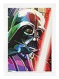 SPAGL - STAR WARS Darth Vader Poster, weißer