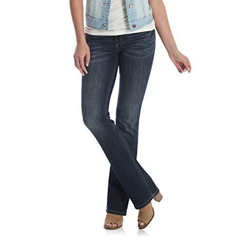 Wrangler Damen Retro Low Rise Bootcut Jeans, dunkelblau, 1W x 36L