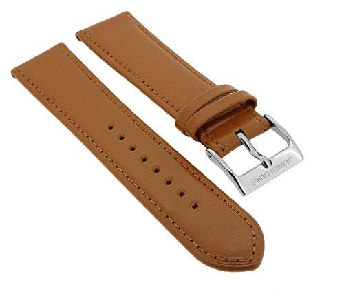 Junghans Meister Handaufzug Ersatzband | Uhrenarmband 20mm | Pferdeleder braun 32412
