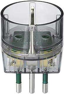 Vimar RI.00302F Adattatore elettrico spina S11, presa P30, fumé