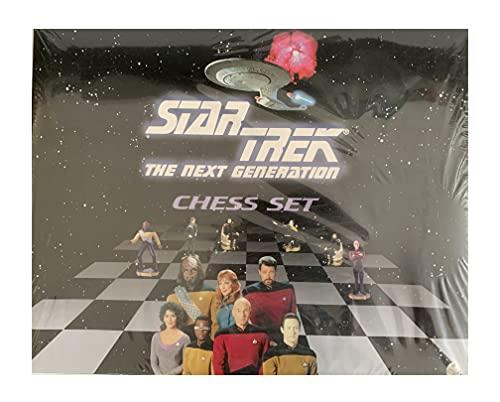 Elbenwald Star Trek Next Generation 3D Schachspiel 44x44 cm Figuren Crew d. Sternenflotte